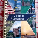 Taste of Tennessee Cookbook 1984 Home Ec Teachers Recipes