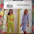 Butterick Pattern # 3778 UNCUT Misses Top Skirt Pants Size 8 10 12