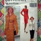 Butterick Pattern # 5107 UNCUT Misses Jacket Skirt Size 12 14 16