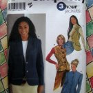 Simplicity Pattern # 5738 UNCUT Misses 3 Hour Jacket or Vest Size 14 16 18 20 22