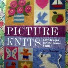 Picture knits: Easy Designs for the Novice Knitter by Betty Barnden Knitting Instruction Book