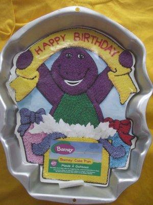 Wilton Barney Cake Pan With Insert 1998 2105 3450 Retired
