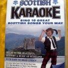 Rare DVD Scottish Karaoke 16 Songs Auld Lang Syne