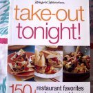 Weight Watchers Take-Out Tonight Cookbook ~ 150 Restaurant Recipes