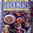Weight Watchers Quick Meals Cookbook ~ Old School WW Recipes