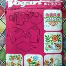 Vintage Crewel Embroidery Transfer Patterns Flowers & Leaves Many Designs