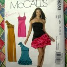 McCalls Pattern # 6283 UNCUT Misses Prom Evening Dress Size 6 8 10 12
