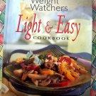 Weight Watchers LIGHT & EASY Cookbook HC