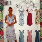 Simplicity Pattern # 9631 UNCUT Misses Summer Dress Size 16 18 20 22