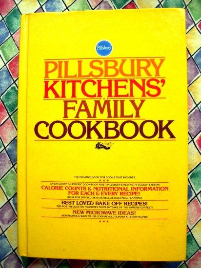 SOLD! Rare Vintage 1979 Pillsbury KITCHENS' FAMILY Cookbook HC