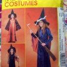 McCalls Pattern # 4620 UNCUT Girls Costume Witch Size 12 14 16