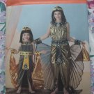 Simplicity Pattern # 2329 UNCUT Childs Girls Costume Egyptian Queen Sizes 7 8 10 12 14