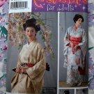 Simplicity Costume Pattern UNCUT # 4080 Womens Japanese Kimono Size 14 16 18 20