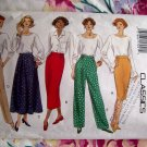 Butterick Pattern # 3163 UNCUT Misses Pants Skirt Sizes 14 16 18