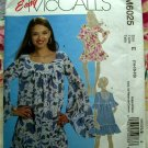 McCalls Pattern # 6025 UNCUT Misses Dress Two Lengths Size 14 16 18