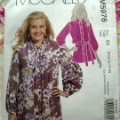 McCalls Pattern # 5976 UNCUT Misses Tunic or Tops Size 8 10 12 14 16