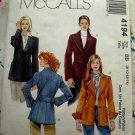 McCalls Pattern # 4194 UNCUT Blazer / Jacket Size 8 10 12 14 16