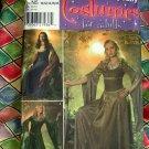 Simplicity Pattern # 4940 UNCUT Misses Costume Renaissance Sizes 10 12 14 16 18