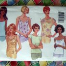 Butterick Pattern # 5487 UNCUT Misses/Woman's Tank Top Variety Size 18 20 22