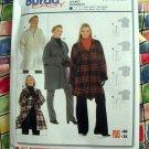 BURDA Express Pattern # 8267 UNCUT Jacket Size 16/18 20/22 24/26 28/30 32/34