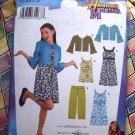 Simplicity Pattern # 3515 UNCUT Girls  Hanna Montana Dress Jacket Pants Size 8 10 12 14 16