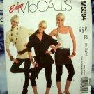 McCalls Pattern # 5394 UNCUT Misses Petite, Average Tall ~ Slim Fit Leggings Size Large XL XXL