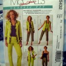 McCalls Pattern # 5432 UNCUT Misses Woman's Wardrobe Vest Jacket Top Pants Size 16 18 20 22 24