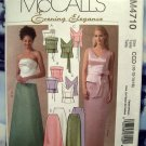 McCalls Pattern # 4710 UNCUT Misses Special Occasion Dress Top Skirt  Size 10 12 14 16
