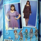 Project Runway Simplicity Pattern # 2897 Womans Pullover Dress Top Size 18 20 22 24