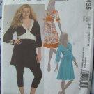 McCalls Pattern # 5435 UNCUT Misses Empire Tunic Dress Size 10 12 14 16