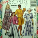 McCalls Pattern # 5811 UNCUT Misses Top Skirt  Size 10 12 14
