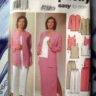 Simplicity Pattern # 5687 UNCUT Misses Tunic Top Jacket Skirt Pants Size 10 12 14 16 18