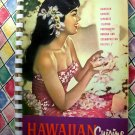 VINTAGE 1966 HAWAIIAN CUISINE COOKBOOK Hawaii Portuguese Filipino Japanese