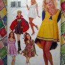 Unique Butterick Pattern # P 475 UNCUT Costume Womans Dress Size 18 20 22 Sexy