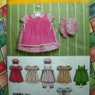 Simplicity Pattern # 4709 UNCUT Infant Toddler Girls Dress Size XXS XS Small Medium Large