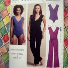 Kwik Sew Pattern # 3671 UNCUT Misses Leotard Unitard Size XS Small Medium Large XL