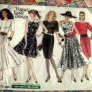 Vogue Pattern # 2021 UNCUT Misses Dress Size 6 8 10
