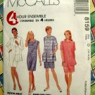 McCalls's # 8159 Misses Dress & Unlined Jacket 12 14 16
