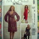 McCalls Pattern # 5484 UNCUT Womans Pullover Stretch Knit Dress  Size 20 22 24 26 28