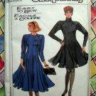 Simplicity Pattern # 8737 UNCUT Misses Dress STRETCH KNITS Size 10 12 14