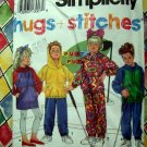Simplicity Pattern # 8002 UNCUT Kids Boys Girls Pants Dress Top Size 2 3 4