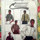 "Simplicity Pattern # 7015 UNCUT Mens Shirt Small Size 34"" Chest"