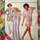 Butterick Pattern # 3850 UNCUT Misses Nightshirt Pajamas Size XS Small Medium