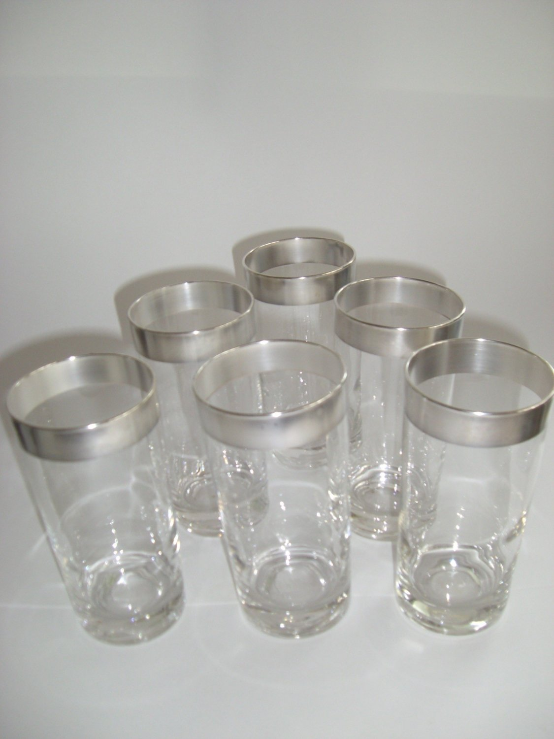HOLD! Lot 6 Dorothy Thorpe Tumbler Glasses ~ Mad Men ~ Mid Century Collectible