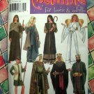 Simplicity Pattern # 4795 UNCUT Costume Teens Adults Nativity Angel Size XS S M L XL