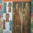 Simplicity Pattern # 4074 UNCUT Misses Womans KNIT Dress Top Skirt Size 14 16 18 20 22