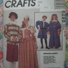 McCalls Pattern # 6096 UNCUT Kids Boys Girls Costume Medieval Magic Size 8 10
