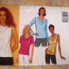 Butterick Pattern # 3131 UNCUT Misses Blouse Variations Size 12 14 16