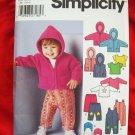 Simplicity Pattern # 5316 UNCUT Babies Toddler Separates Size XXS XS Small Medium Large