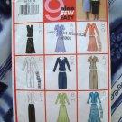 Butterick Pattern # 3037 UNCUT Misses Miss Petite Top Skirt Scarf Size 14 16 18